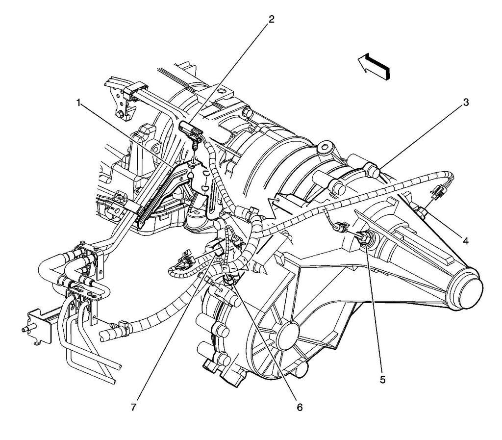 1996 chevy blazer transmission diagram