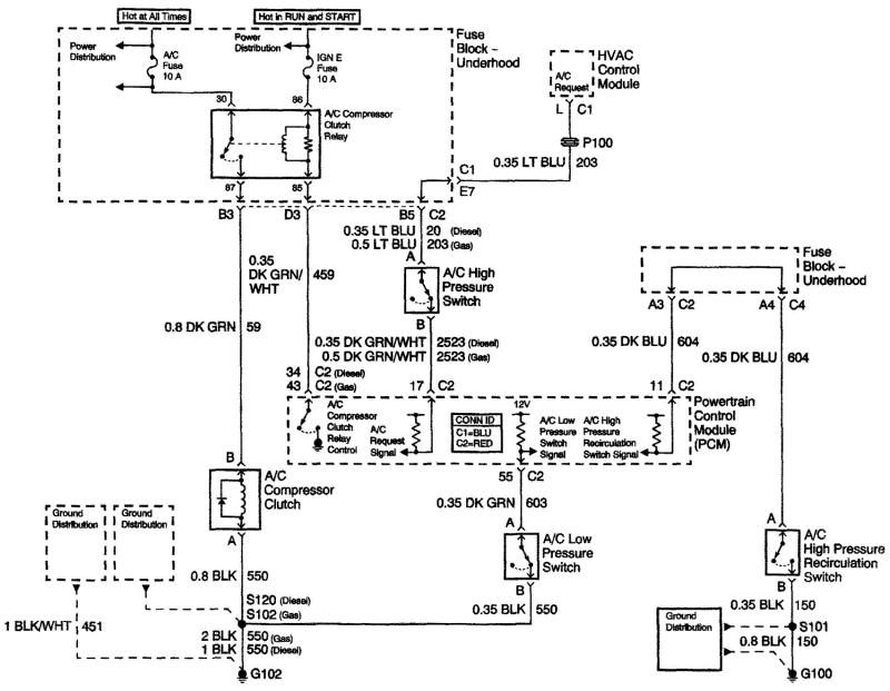 o general ac wiring diagram