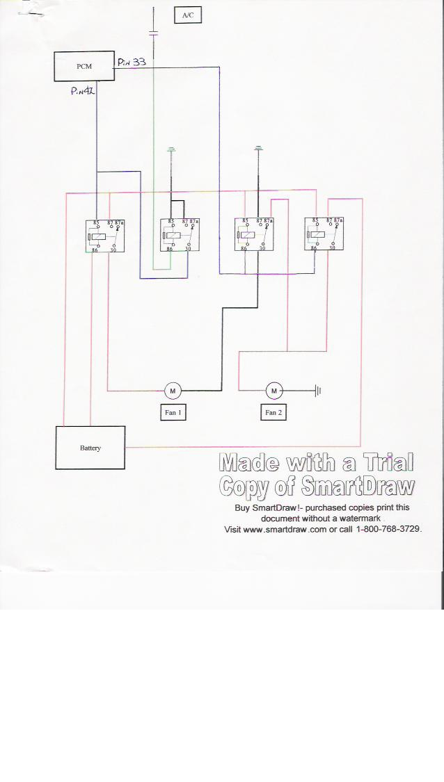 nelson electric fan wiring harness