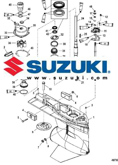 Suzuki Outboard Parts Diagrams Catalog Lookup PerfProTech