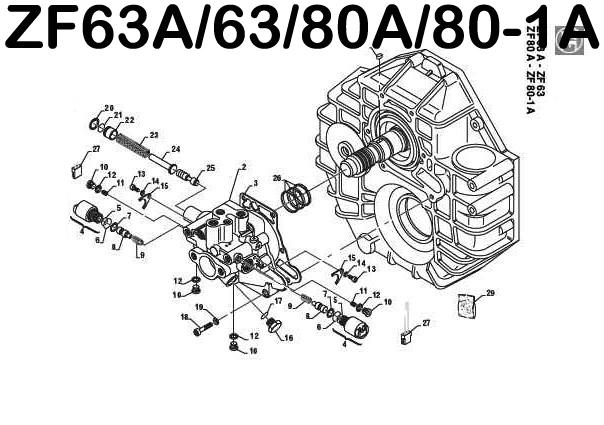 marine transmission schematic