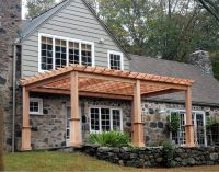 Shaded Attached Pergola Design Plans for Your Home ...