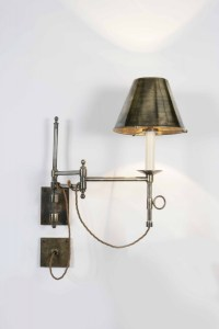 Library Swing Arm Wall Light