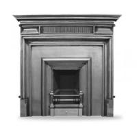 Royal (Narrow) Cast Iron Fireplace Insert