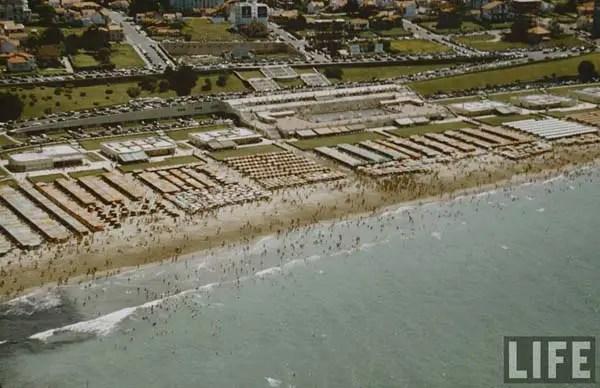 Mar del Plata en los '50