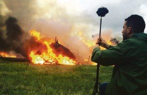 bryn-mooser-of-vr-studio-ryot-filming-a-bonfire-of-ivory-stockpiles-in-kenya-in-april-as-the-government-crack-down-on-illegal-ivory-trade-1-760x428