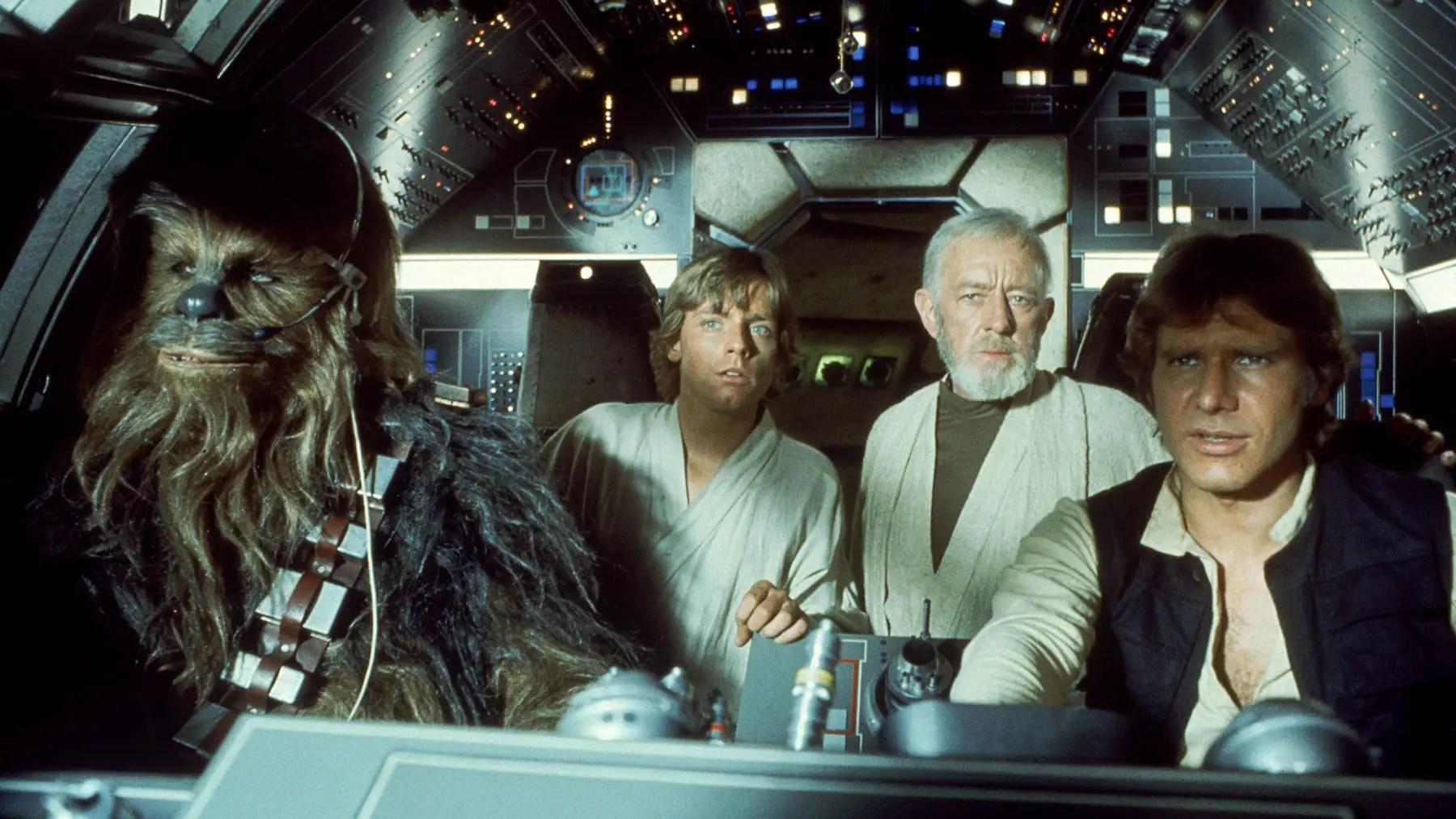 Todo el universo de 'Star Wars' ya está disponible en Netfilx
