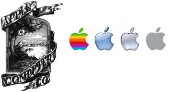 "Historias del logo de ""Apple"""