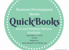 QuickBooks Training for Entrepreneurs, Nonprofit Leaders and Small Business Owners