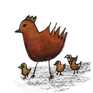 chicken-with-chicks