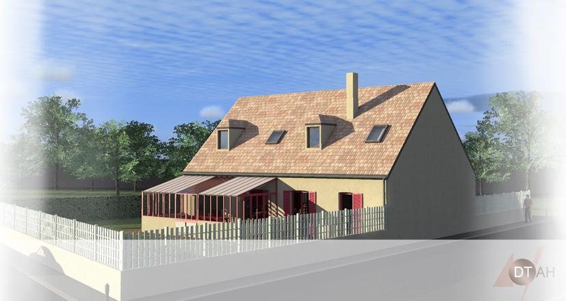 Permis De Construire Terrasse Vranda  Permis De ConstruirePlan De