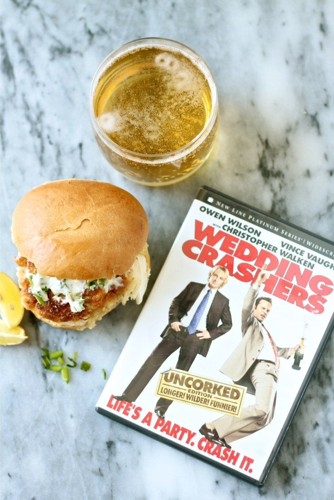 Crab Cake Sandwiches Inspired by Wedding Crashers