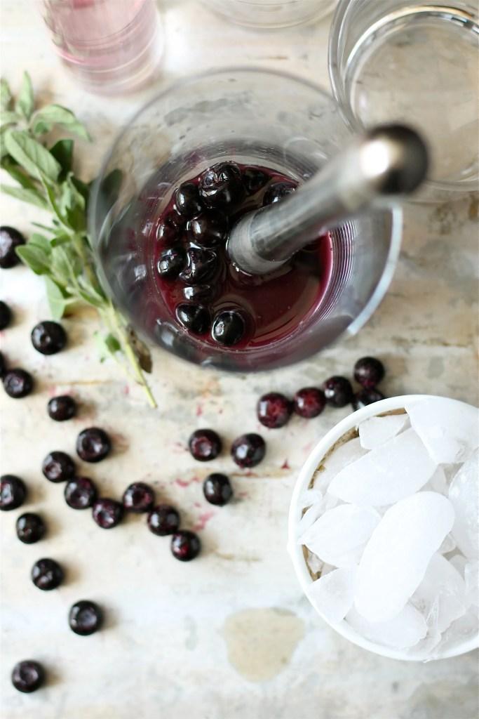 Blueberry Lavender Cocktail