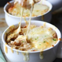 Three Onion French Onion Soup