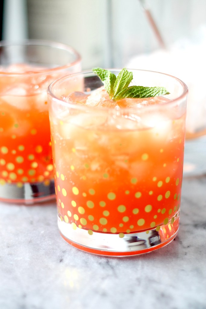 Blood Orange Spritzer