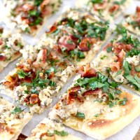 Clam, Garlic, and Bacon Flatbread