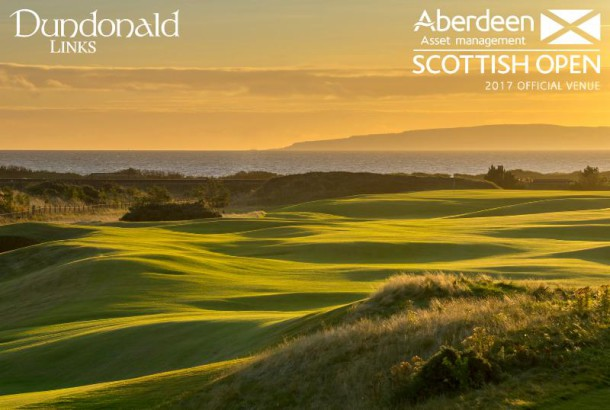 Dundonald Links to host the 2017 Aberdeen Asset Management Scottish Open