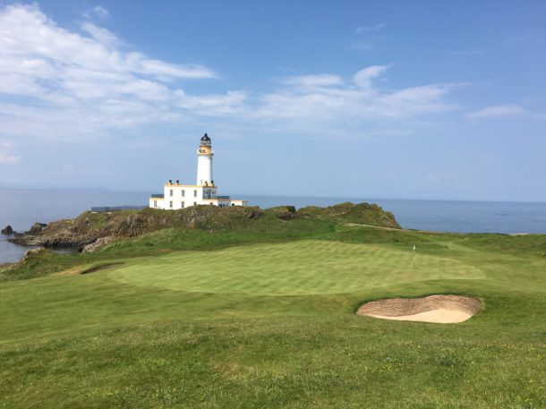 The Ailsa Course at Trump Turnberry - No. 9 - PerryGolf.com