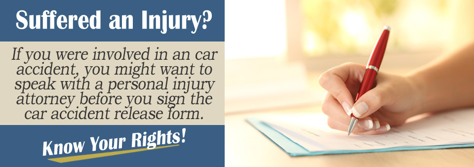 What\u0027s A Car Accident Release Form? (And Should I Sign It?) - accident release form