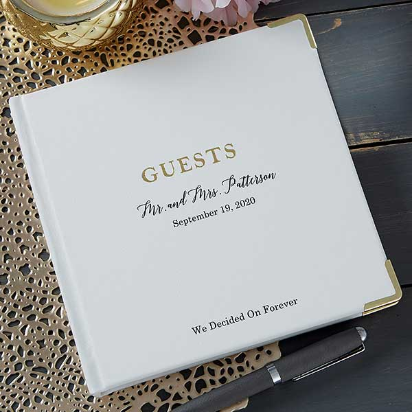 The Ultimate Personalized Wedding Guest Book