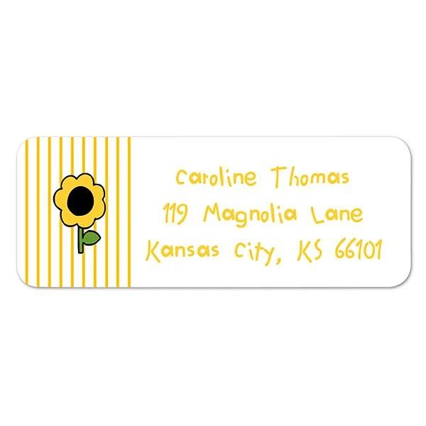 Kids Personalized Return Address Labels - Stampin\u0027 Fun