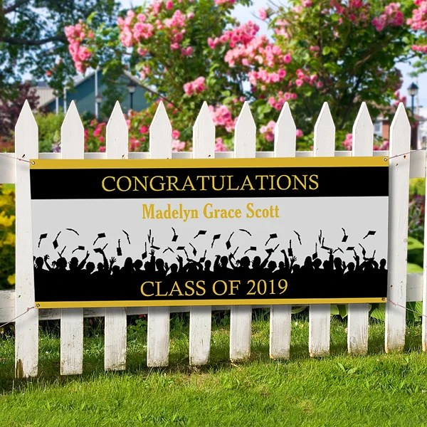Personalized Graduation Banners - Congratulations