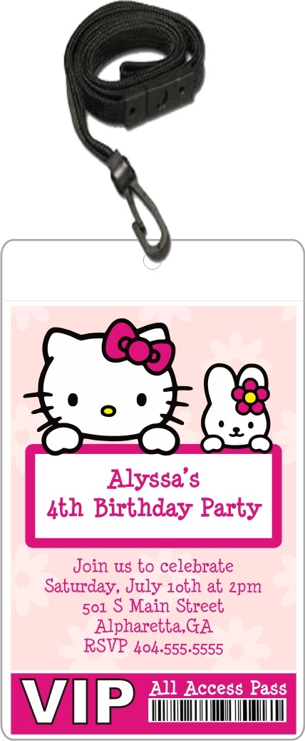 hello kitty invitations classic face hello kitty baby pastel more