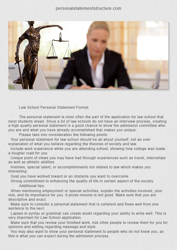 How To Create Correct Economics Personal Statement Structure