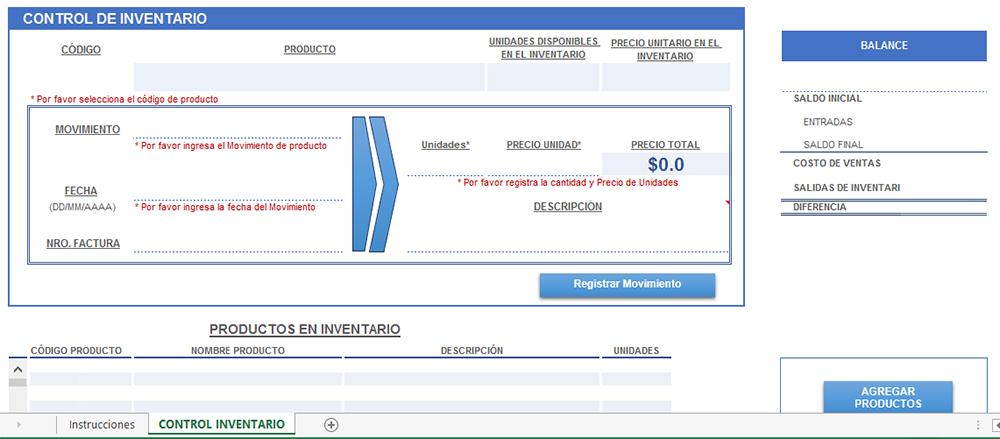 Encantador Inventario De Plantillas De Excel Colección - Colección - formato inventario en excel