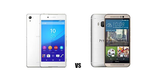 Sony Xperia Z4 vs HTC One M9