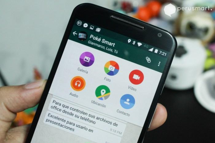 Whatsapp se actualiza con Material Design
