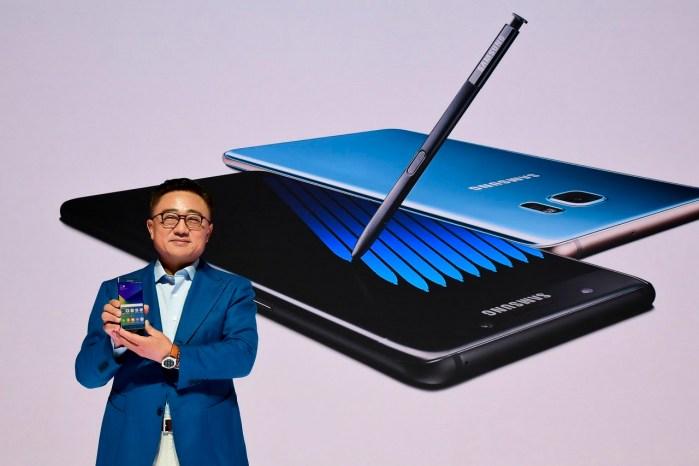 Samsung le pone fin al Galaxy Note 7