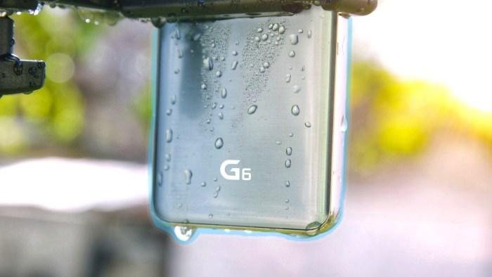 El LG G6 se somete a una prueba de resistencia en una lavadora