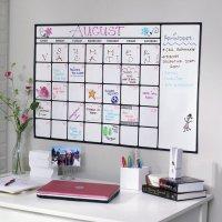 Dry-Erase Calendar Decal  Petagadget