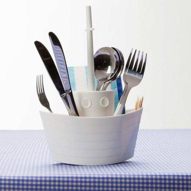Dinner Boat Cutlery Holder Petagadget