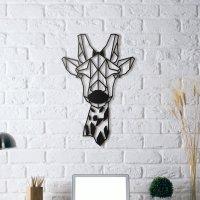 Giraffe Metal Wall Art  Petagadget