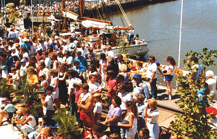 River Festival shows how popular saved trestle has been and will be.