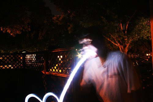 Painting With Light and Long Exposures lpthrow