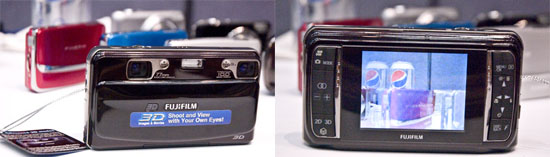 PMA 2010: Fujifilm Showcases Diverse Camera Line, from 3D to Medium Format fujifilm 3d frontback