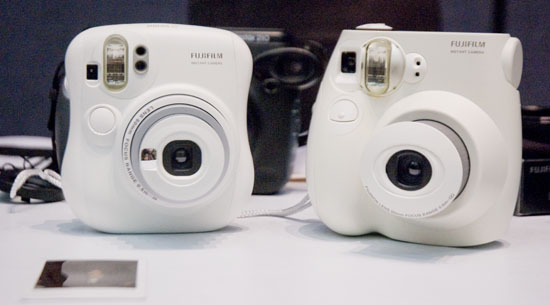 PMA 2010: Fujifilm Showcases Diverse Camera Line, from 3D to Medium Format instax fuji