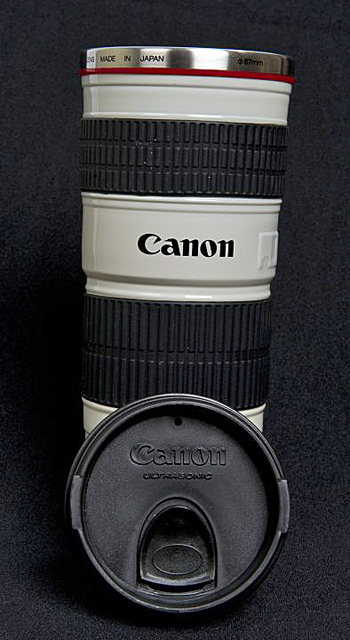 Canon Lens Mug Purchased in Canada canonlensmugpdn