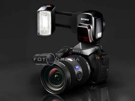 Concept Sony Alpha DSLR Offers a Slanted LCD and Futuristic Design alphaconceptflash