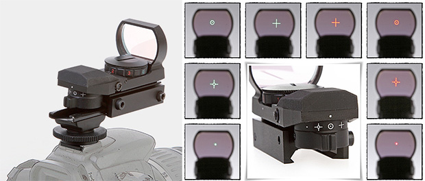Tactical Laser Sight for Wildlife Shooting hotshoelaserscope