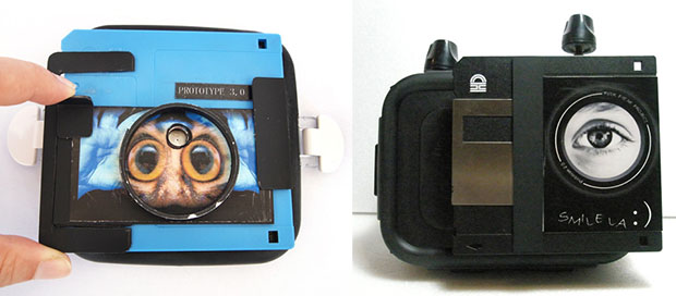 Cameras Made from Food Containers and Floppy Disks peekfreak1