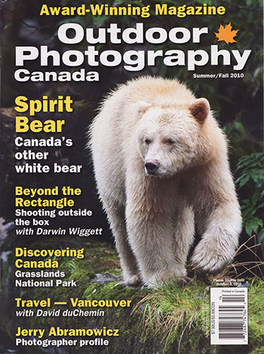 Magazine Cover Features Photo Shot at ISO 3200 500iso