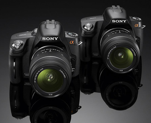 Sony Unveils the A290 and A390 DSLRs sony290390