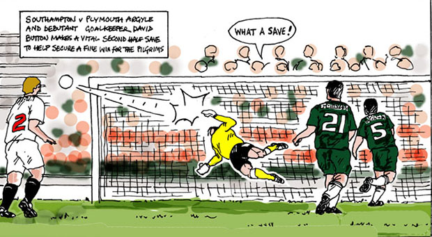 Soccer Club Bans Photographers, Newspaper Uses Cartoonist Instead cartoon1