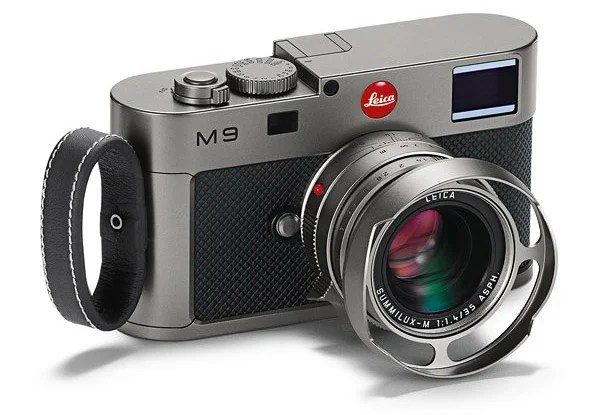 New Leica M9 Titanium Limited to 500 Pieces, Looks Great in a Bank Vault leicam9titanium