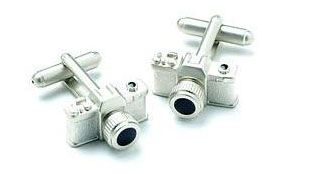Fashionable Camera Cufflinks for the Budding Photographer cameracufflinks