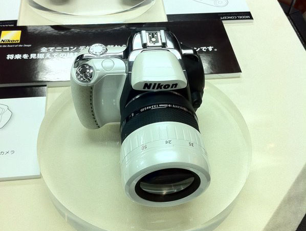 Pentax esque Nikon Concept Camera nikonconcept